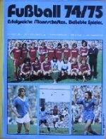 Fußball 74/75 - Bergmann
