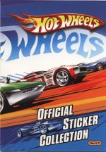 Hot Wheels - official sticker colletion - E-Max/Giromax