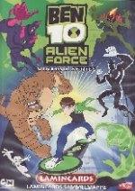 BEN 10 Alien Force Virtual Series Lamincards - Edibas