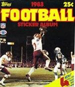 Football Sticker Album 1983 (Topps) - Merlin/Topps