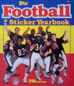 Football Sticker Yearbook 1986 (Topps) - Merlin/Topps