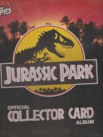 Jurassic Park - Official Collector Card Album - Merlin/Topps