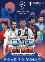 Match Attax Champions League 18/19 - Road to Madrid 19 - Merlin/Topps