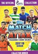 Match Attax Scottish Professional Football League 2017/18 - Merlin/Topps