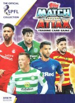 Match Attax Scottish Professional Football League 2018/19 - Merlin/Topps