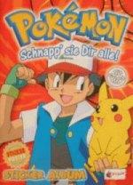 Pokemon rotes Album - Merlin/Topps
