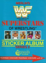 WWF Superstars Of Wrestling Series 2 - Merlin/Topps