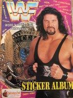 WWF World Wrestling Federation Sticker Album - Merlin/Topps
