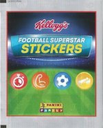Kellogg's Football Superstar Stickers