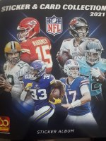 NFL 2021 Sticker & Card Collection - Panini