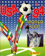 WM 1994 (USA) int. Version 444 Sticker Black Back - Panini