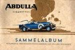 Abdulla Sammelalbum  Automobile der bekanntesten Marken - Sonstiges