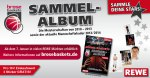 Brose Baskets Sammelalbum (Rewe) - Rewe