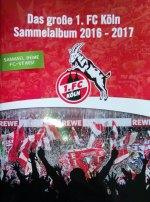 Das große 1.FC Köln Sammelalbum 2016-2017