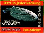 Fritt-Sticker Star Trek Serie 2 RS Enterprise - Sonstiges