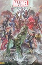 Marvel Stickeralbum - die Geschichte von Marvel