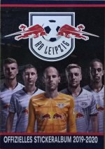 RB Leipzig -offizielles Stickeralbum 2019-2020