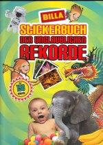 Stickerbuch der Unglaublichen Rekorde (Billa Verlag) - Billa