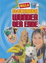 Stickerbuch Wunder der Erde (Billa Verlag) - Billa