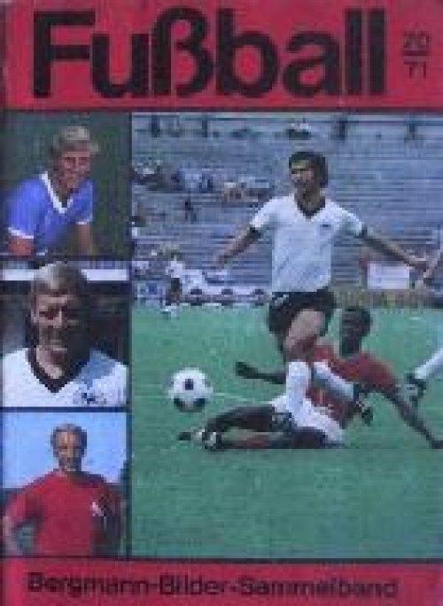 Fußball 70/71 - Bergmann - klebebildchen.net