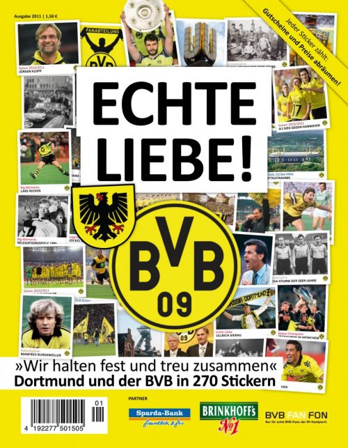 Echte Liebe Dortmund Und Der Bvb In 270 Stickern Juststickit